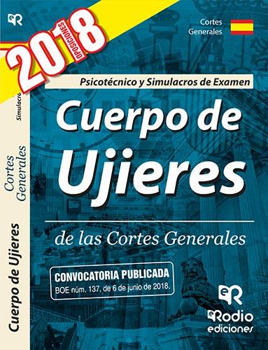 Ujieres de las Cortes Generales. Psicotecnico y Simulacros de Examen.