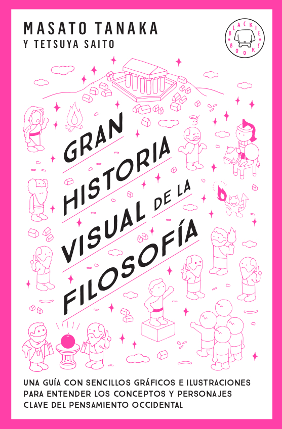 Gran historia visual de la filosofía978-84-17552-76-3   «Una guía con sencillos gráficos e ilustraciones para entender los conceptos y personajes clave del pensamiento occidental.»