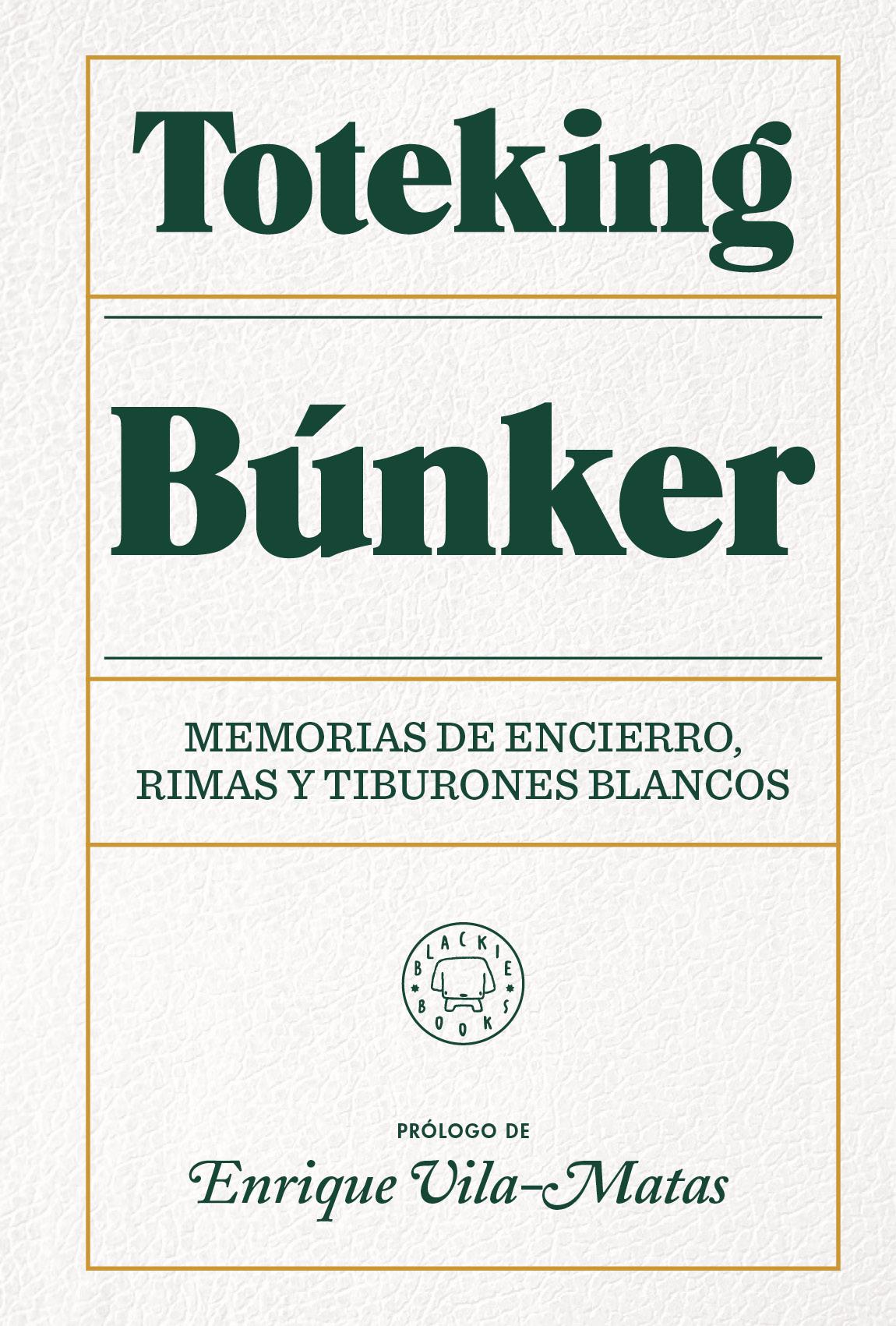Búnker   «Memorias de encierro, rimas y tiburones blancos.»