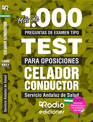 CELADOR CONDUCTOR. SERVICIO ANDALUZ DE SALUD