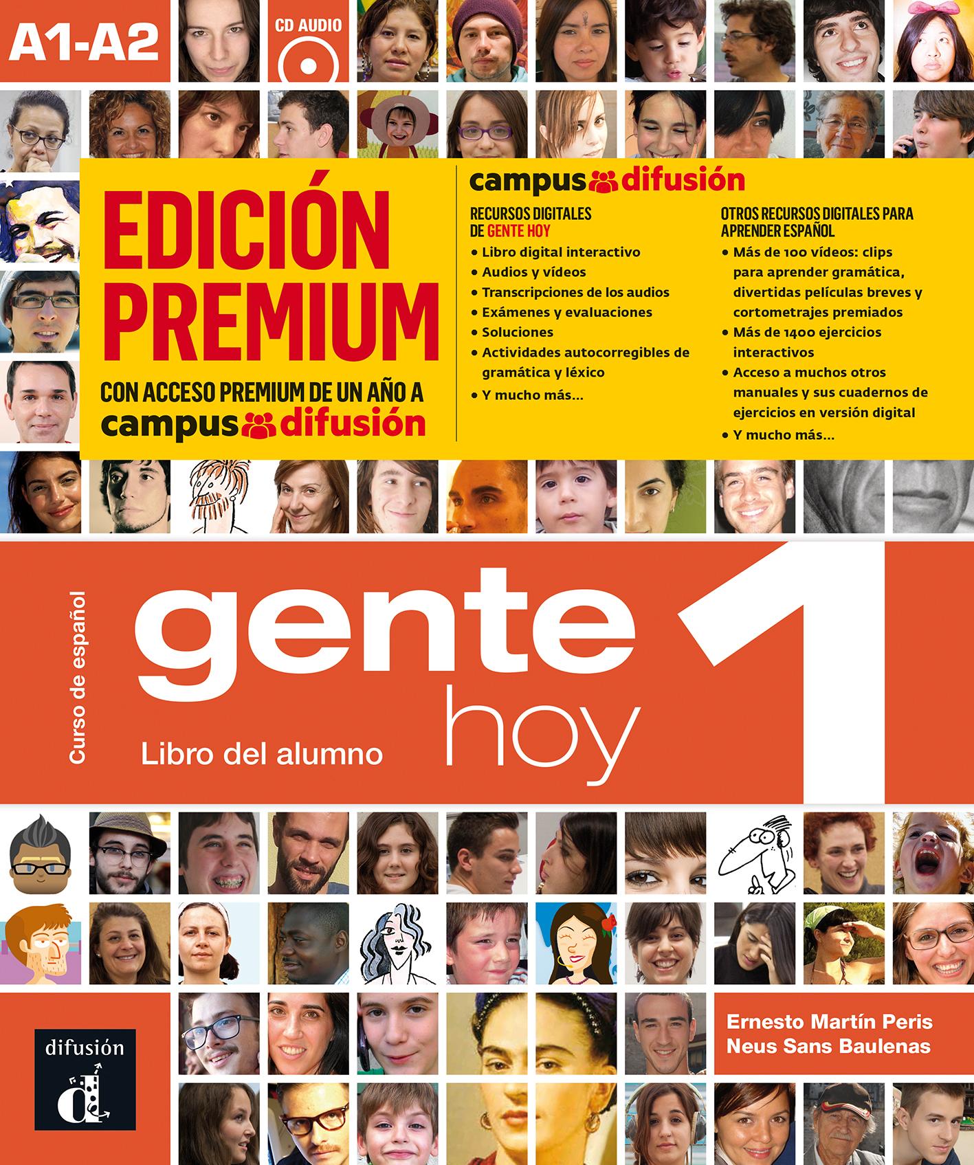 GENTE HOY 1 LIBRO ALUMNO CD PREMIUM