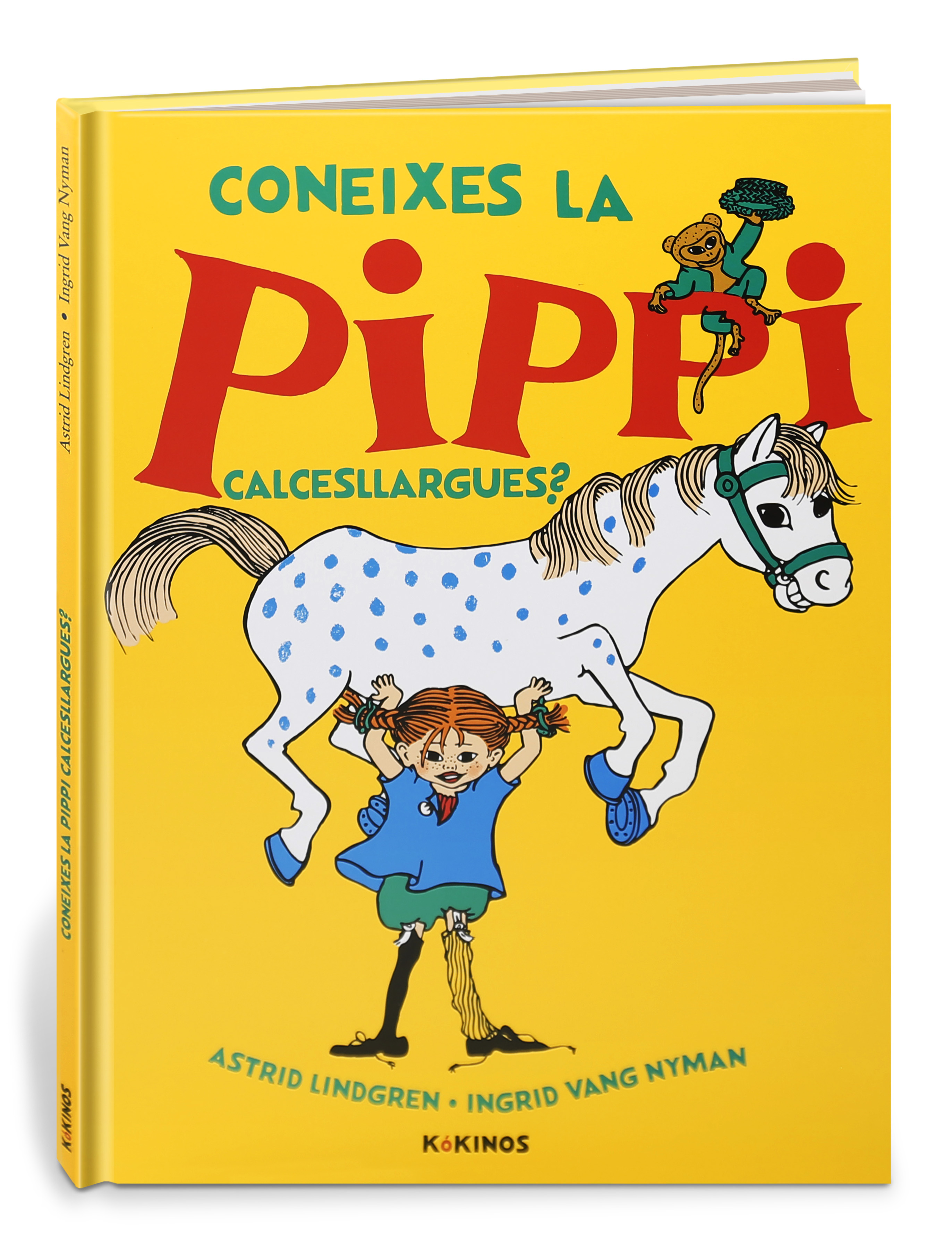 Coneixes la Pippi Calcesllargues? (9788417742300)