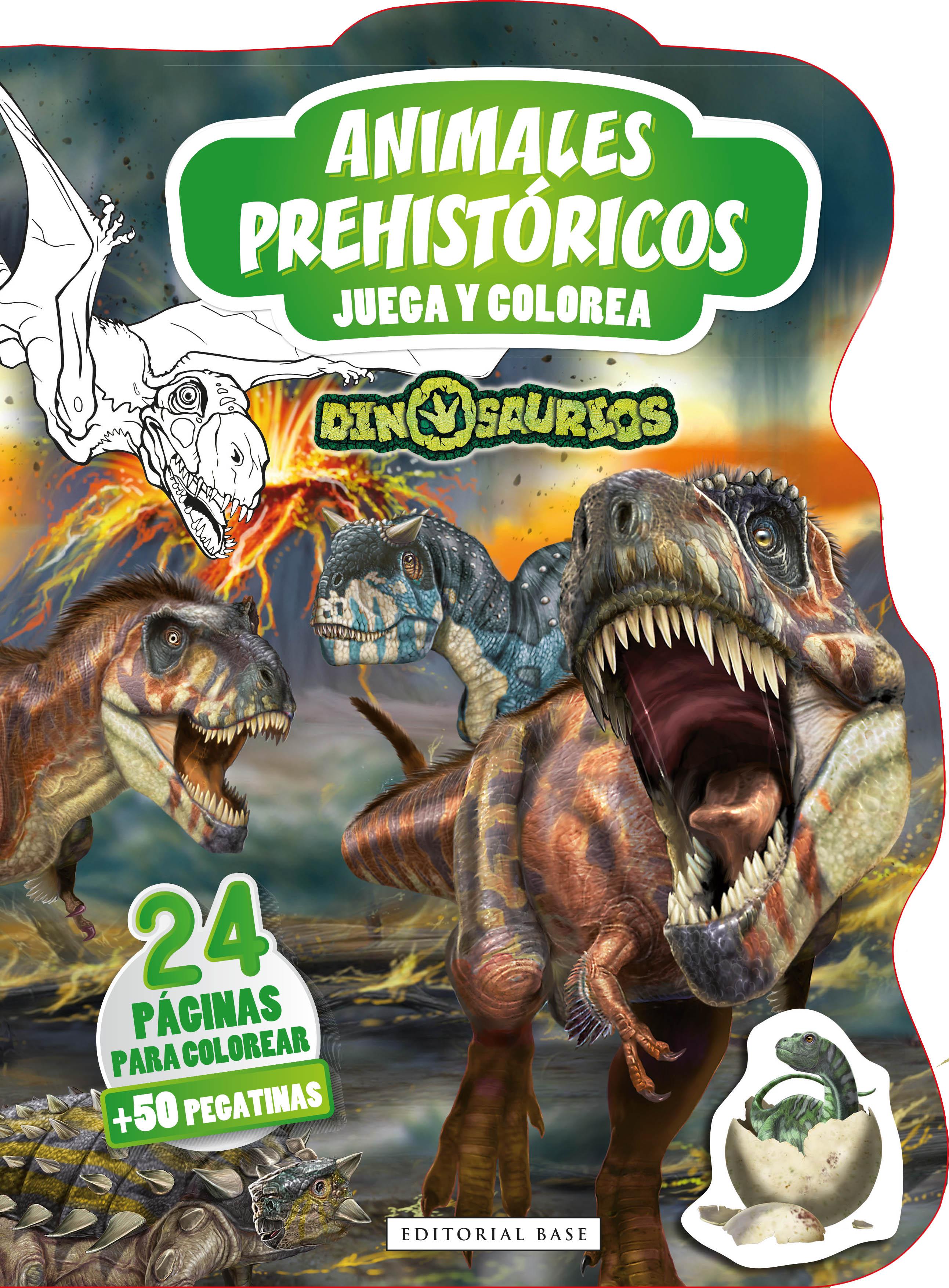 Dinosaurios. Animales prehistóricos «Juega y colorea»