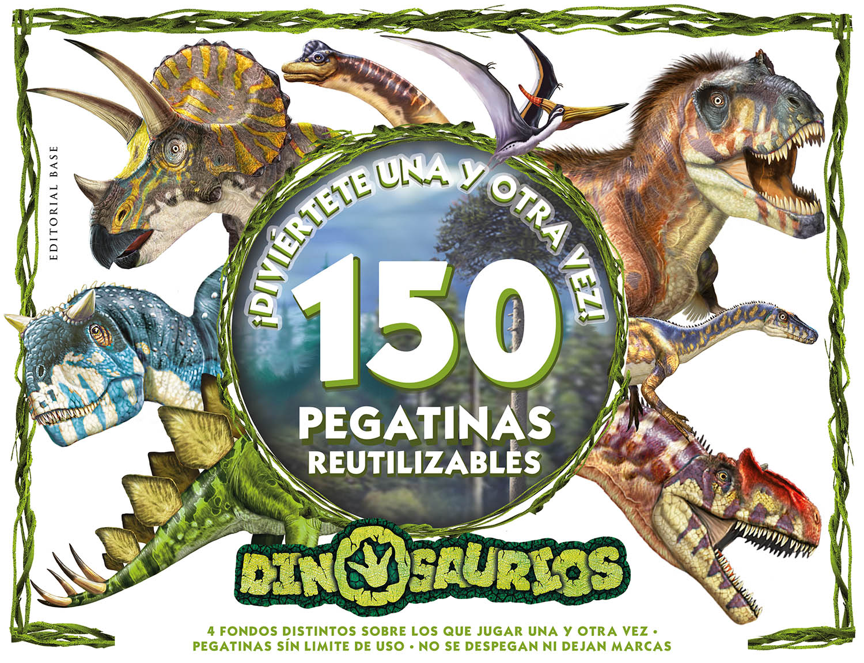 Dinosaurios. Diviertete una y otra vez! «150 pegatinas reutilizables!»