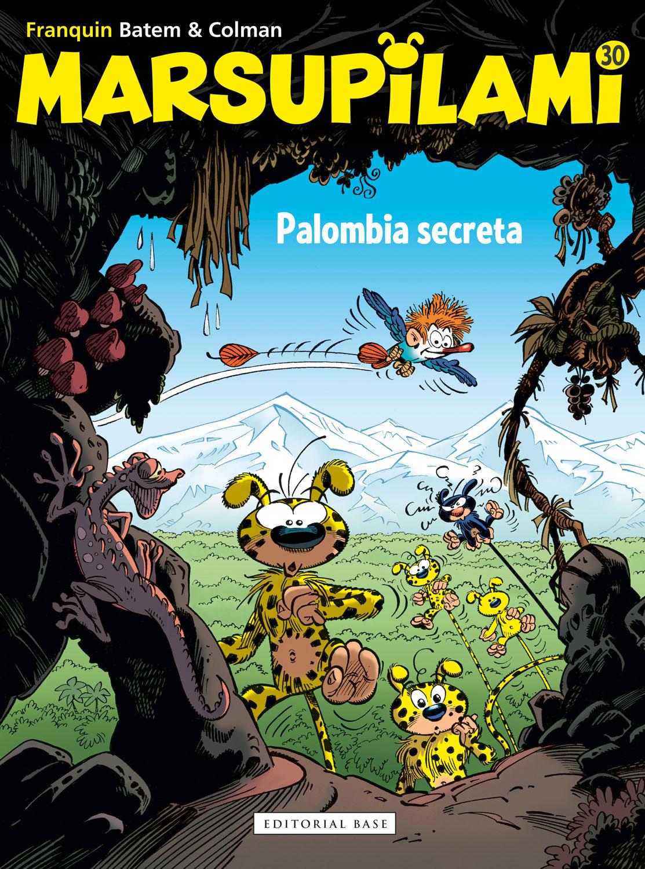 Marsupilami 30. Palombia secreta