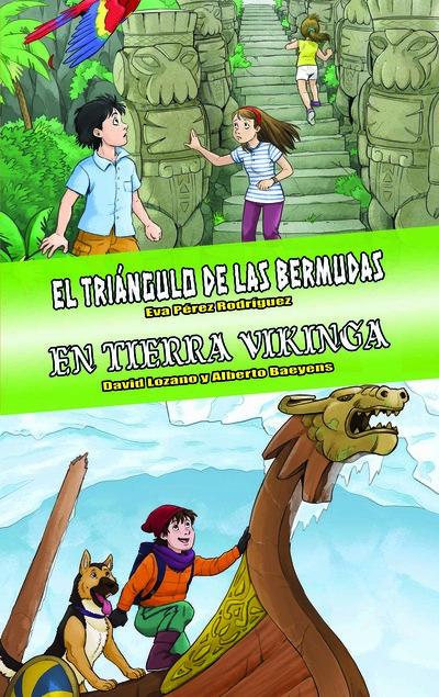 Omnibus El triángulo de las Bermudas - En tierra vikinga «Edición especial Tú decides la aventura»