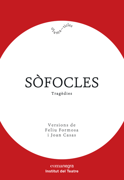 Sòfocles «Tragèdies» (9788418022005)