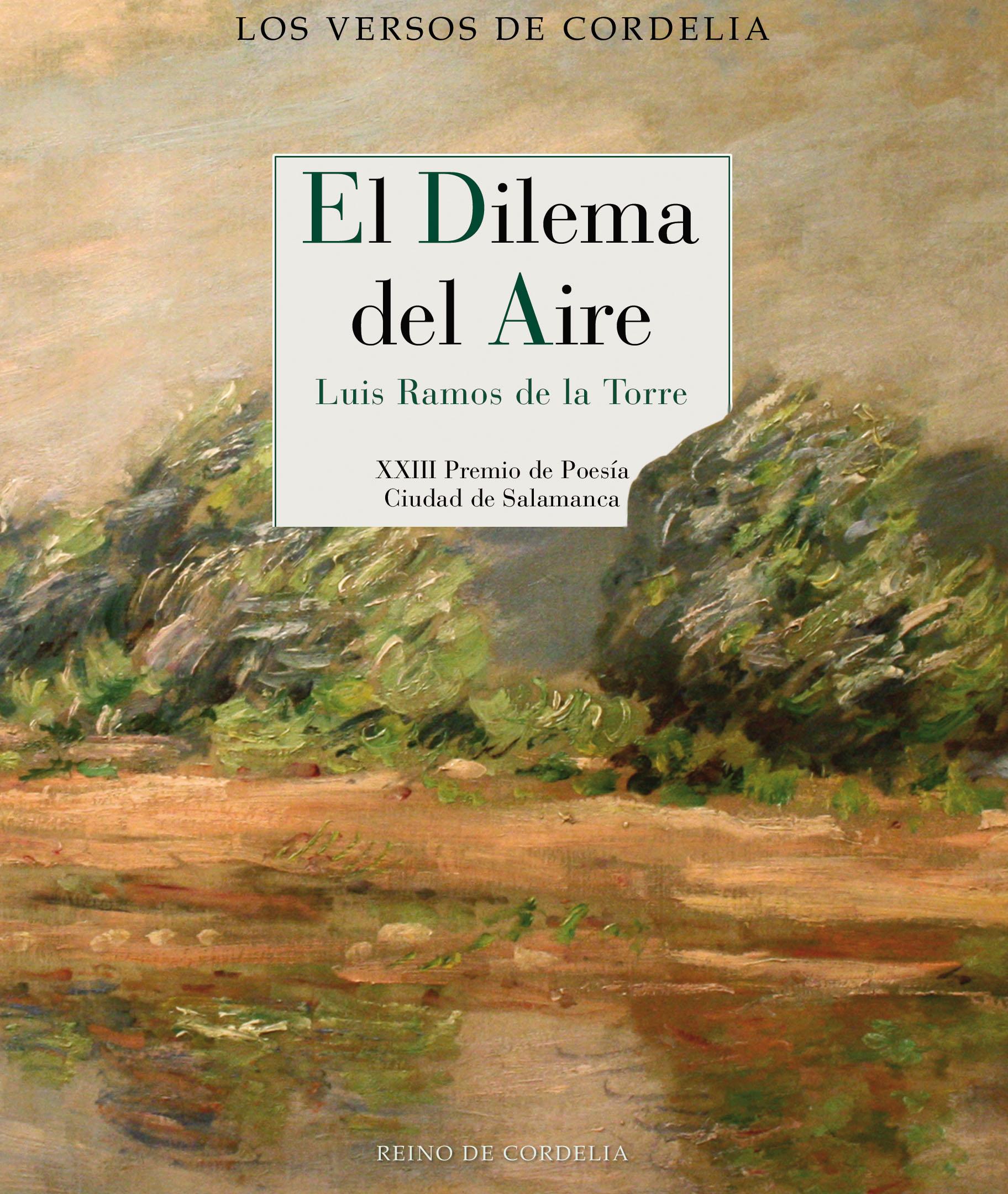El dilema del aire   «XXIII Premio de Poesía Ciudad de Salamanca»