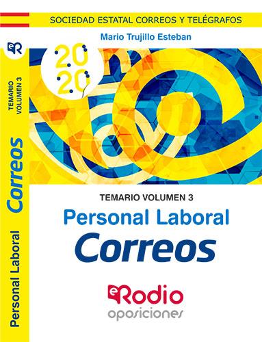 Correos. Personal Laboral. Temario volumen 3.