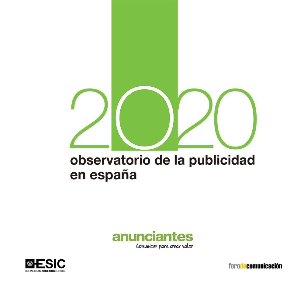 Observatorio de la publicidad en España 2020   «Resumen de datos del sector en el año 2019»