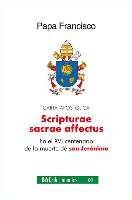 Scripturae Sacrae affectus   «Carta apostólica en el XVI centenario de la muerte de san Jerónimo»