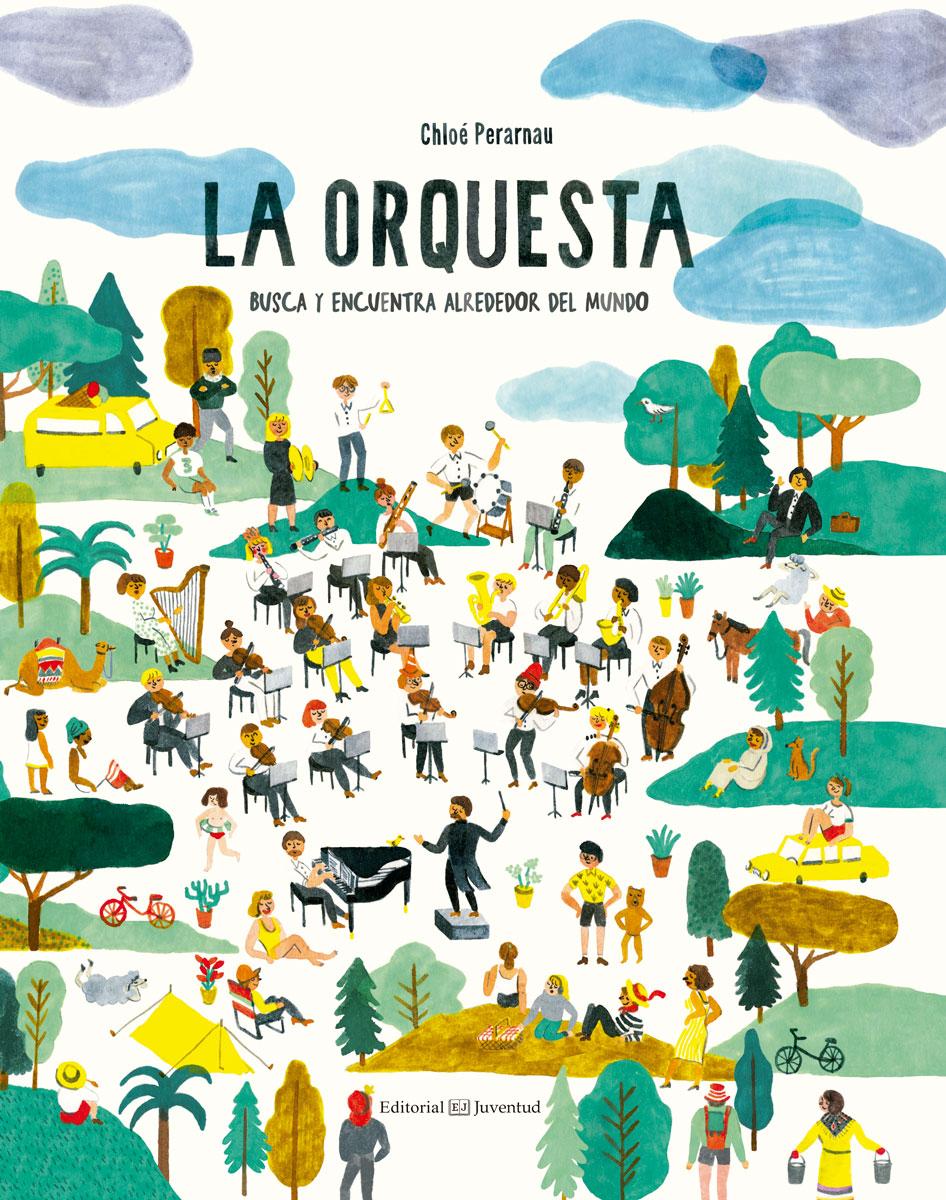 La orquesta   «Busca y encuentra alrededor del mundo»