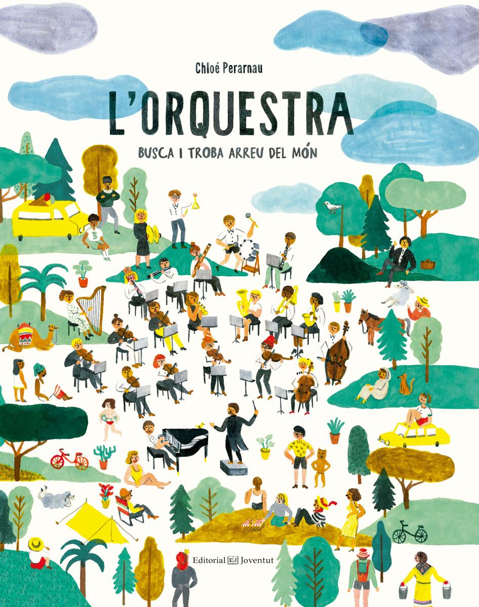 L'orquestra   «Busca i troba arreu del món»