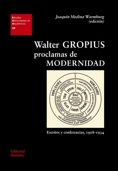 Walter Gropius. Proclamas de modernidad   «Escritos y conferencias, 1908-1934»