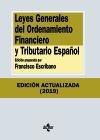 3Leyes Generales del Ordenamiento Financiero y Tributario Español