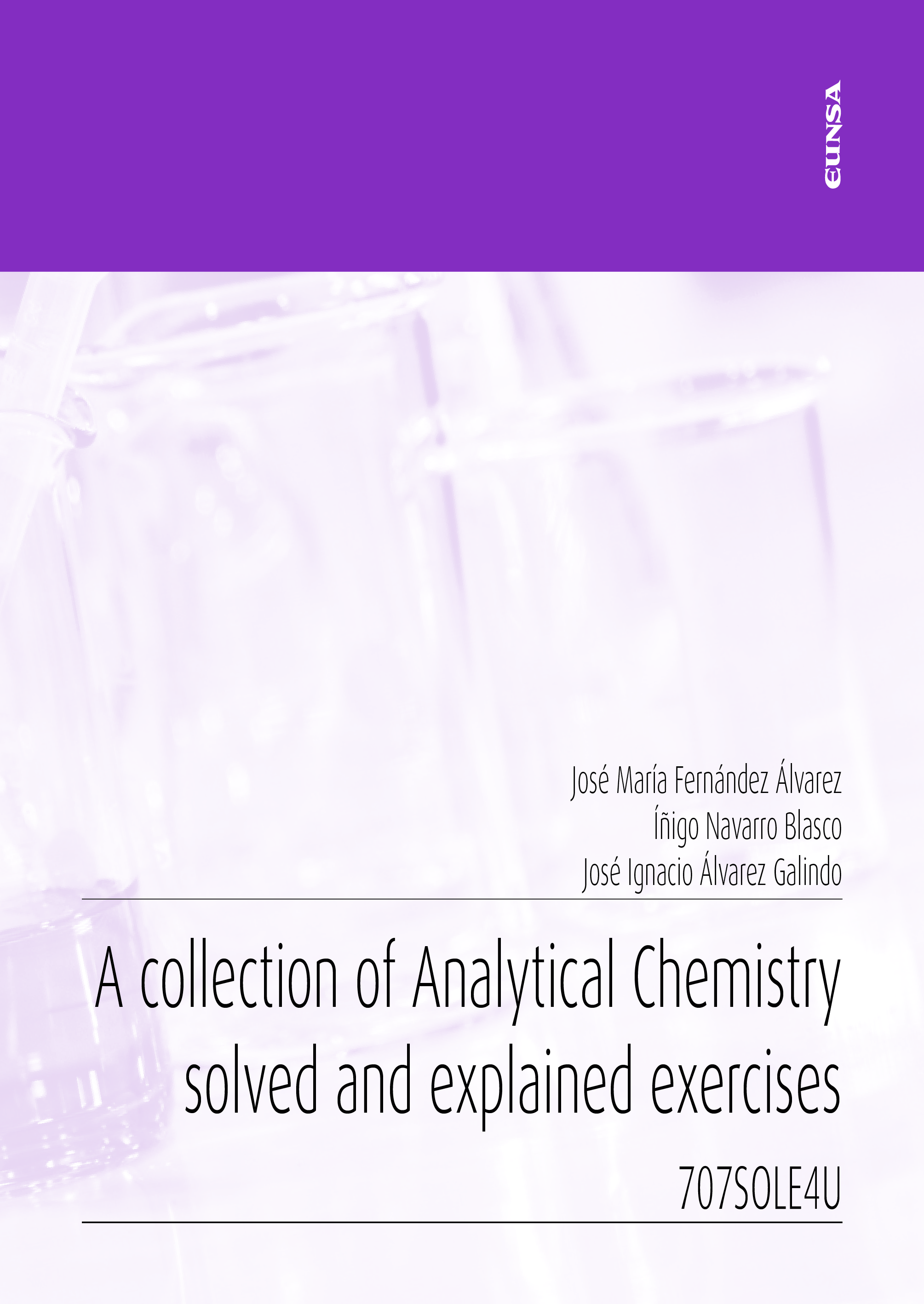 A collection of Analytical Chemistry solved and explained exercices (9788431334833)