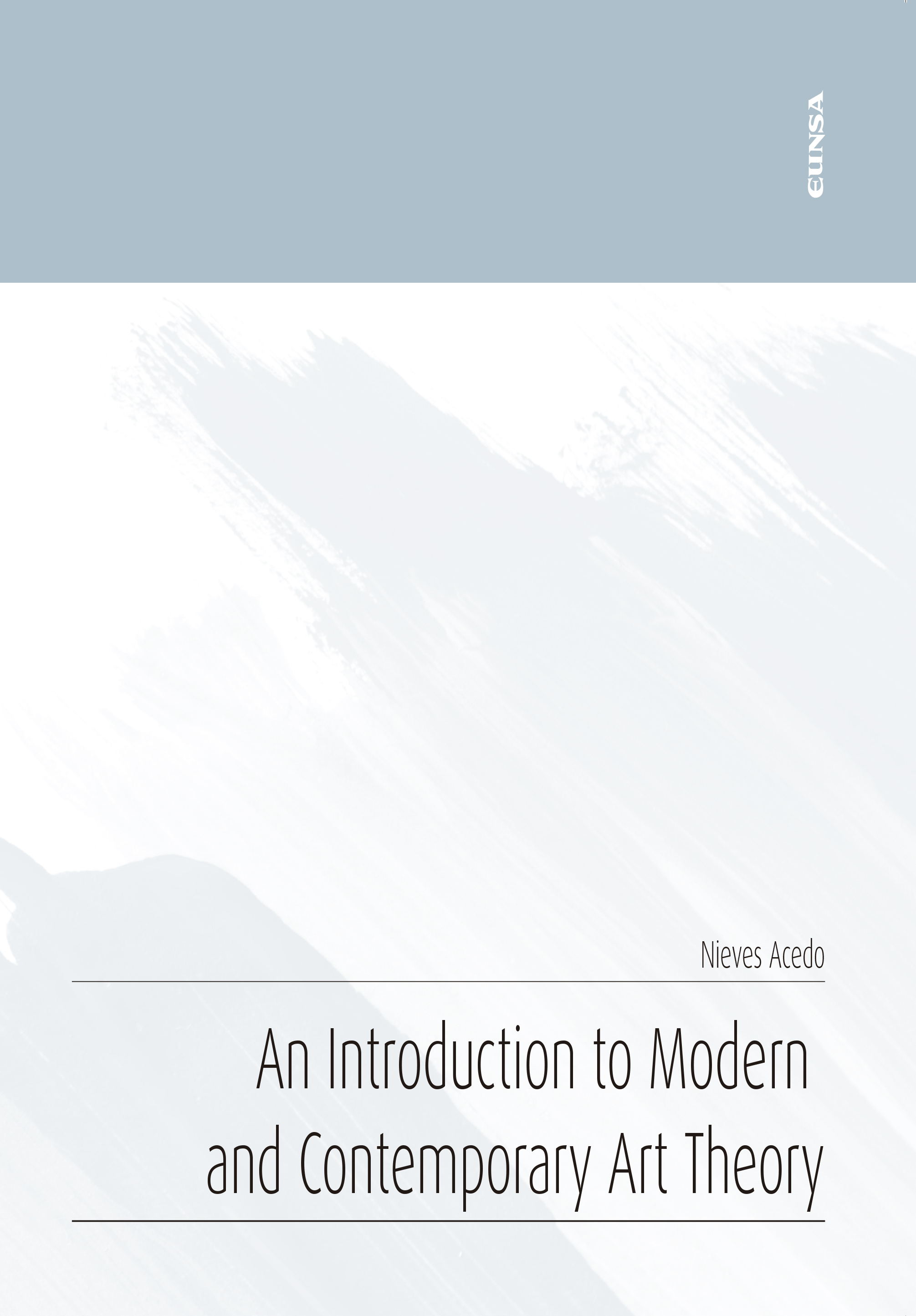 An Introduction to Modern and Contemporary Art Theory (9788431335182)