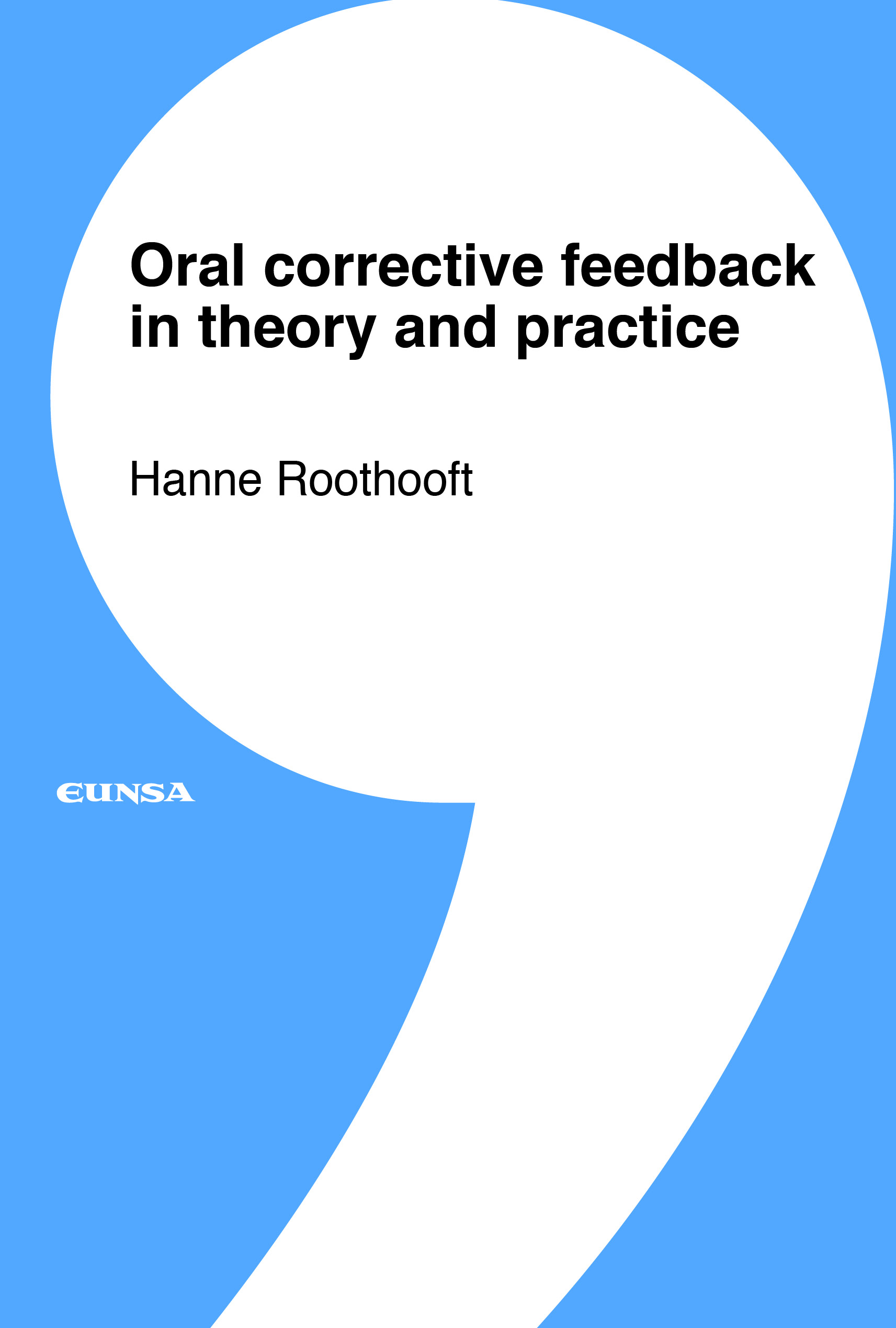 Oral corrective feedback in theory and practice (9788431335403)