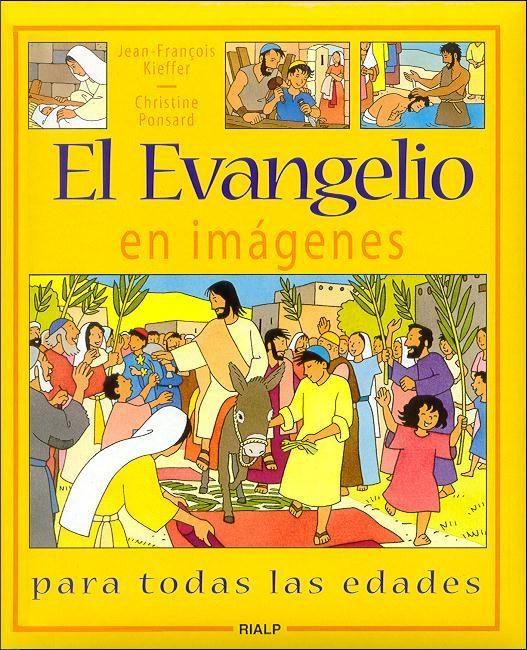 El Evangelio en imágenes (rústica)