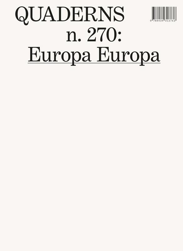 QUADERNS N.270: EUROPA EUROPA