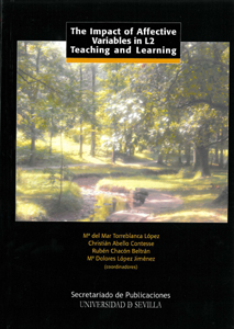 The impact of affective variables in L2 teaching and learning (9788447212439)