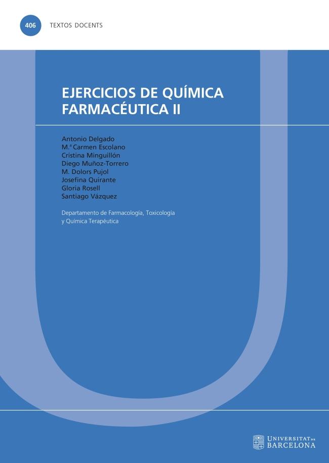 Ejercicios de química farmacéutica volumen 2