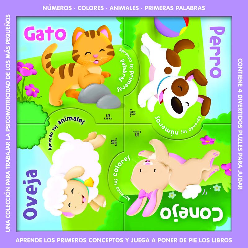 Puzzlebooks Animales