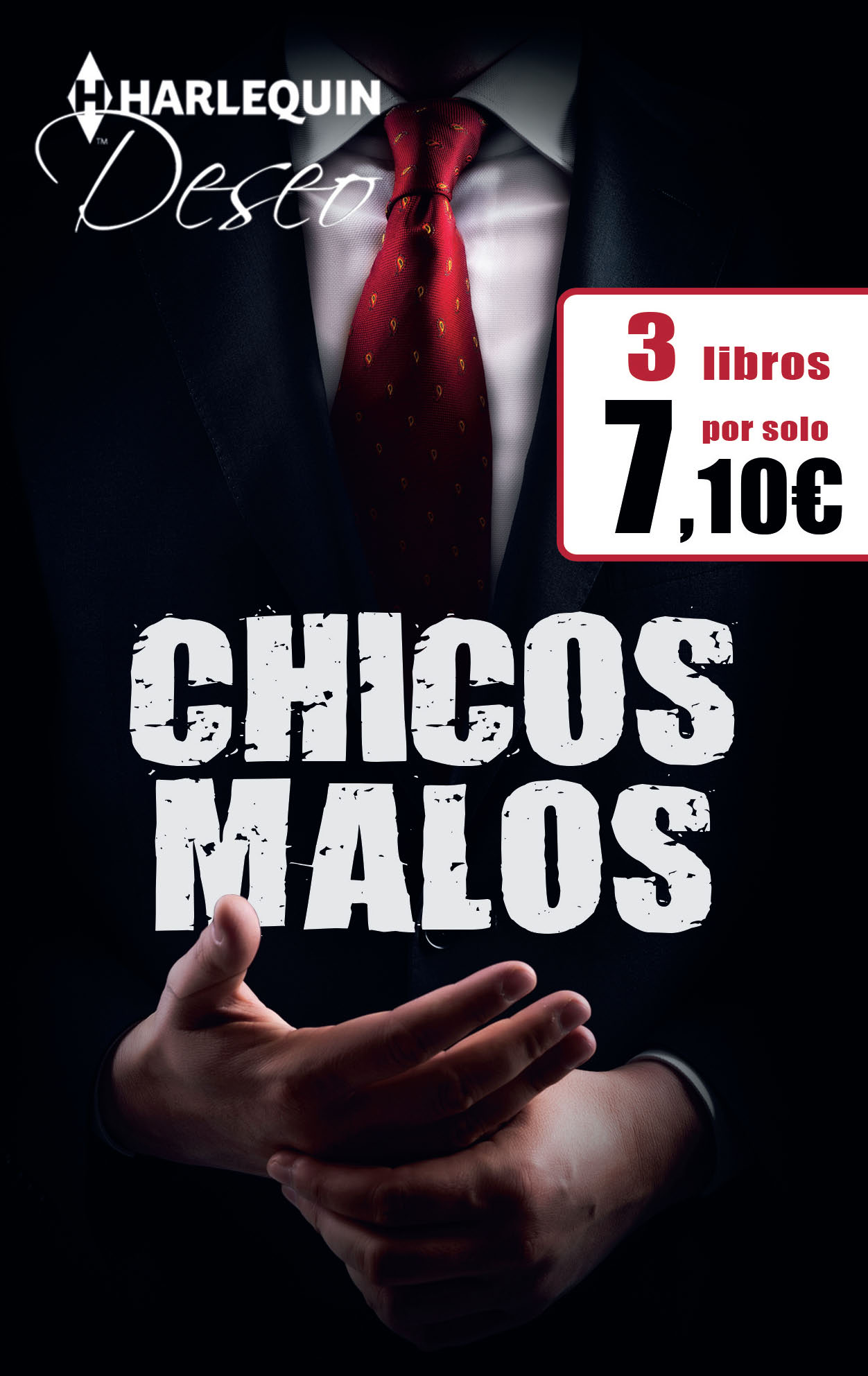 PACK 3X2 DESEO CHICOS MALOS ABRIL 2017