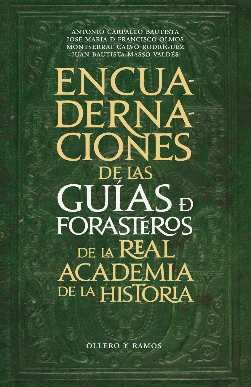 Las Encuadernaciones de las Guías de Forasteros de la Real Academia de la Historia
