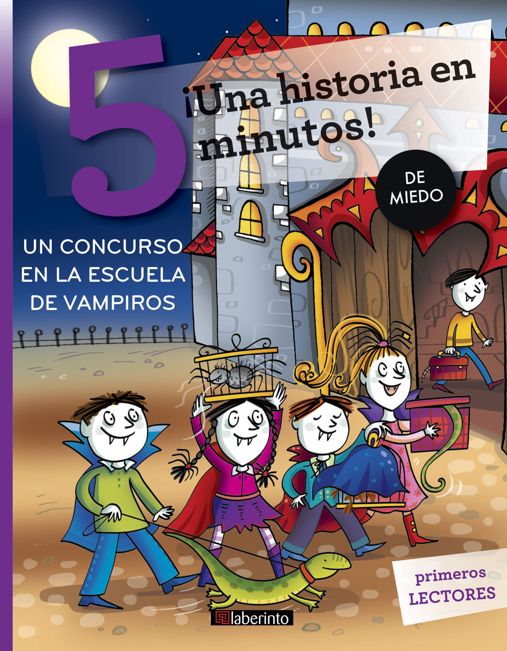¡Una historia en 5 minutos! Un concurso en la escuela de vampiros