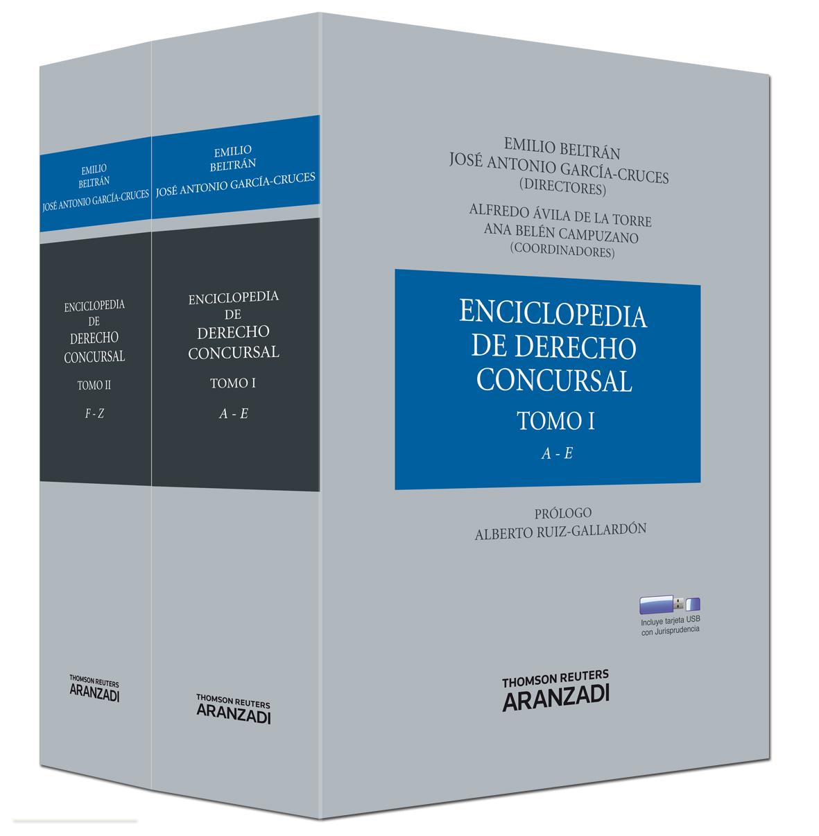 Enciclopedia de Derecho Concursal (2 Tomos)