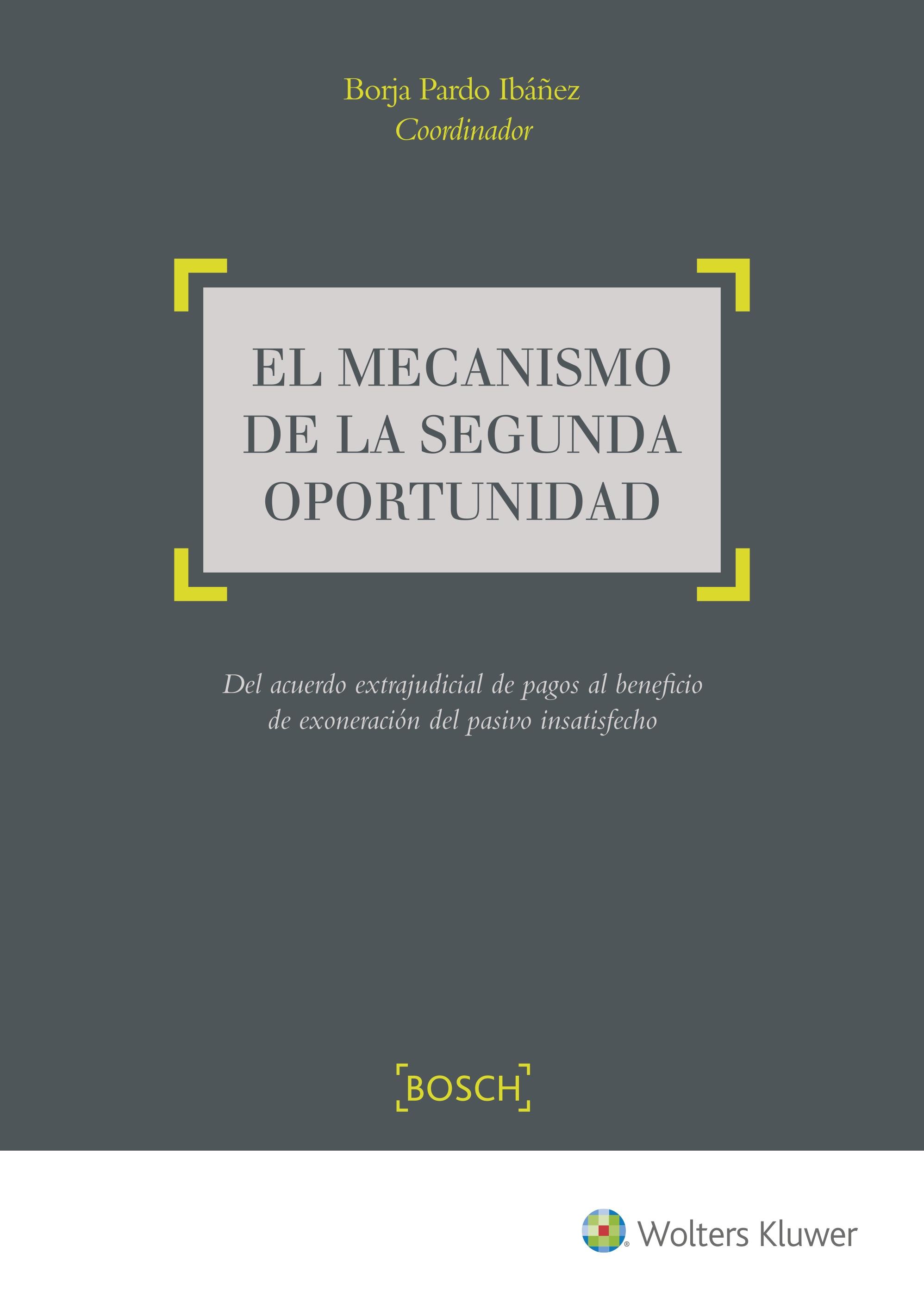 EL MECANISMO DE LA SEGUNDA OPORTUNIDAD, 1ª EDICIÓN