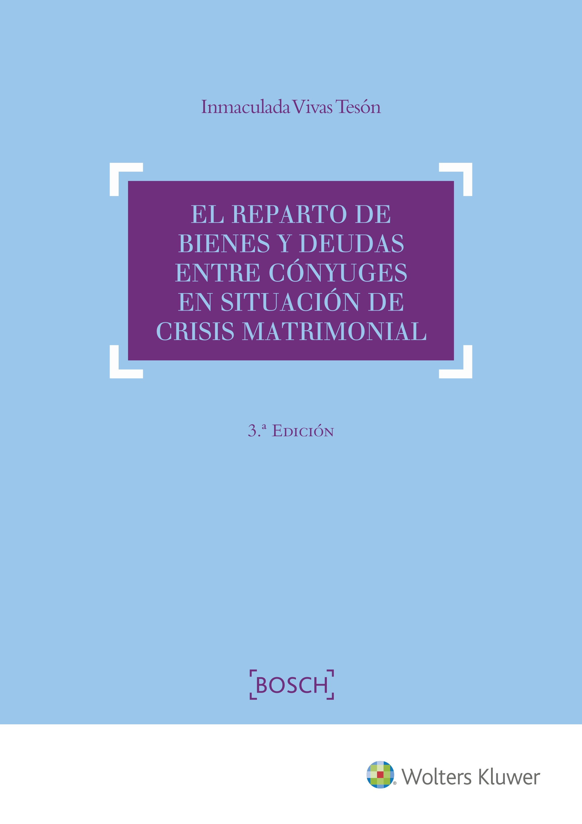 EL REPARTO DE BIENES Y DEUDAS ENTRE CONYUGES EN SITUACION DE CRIS