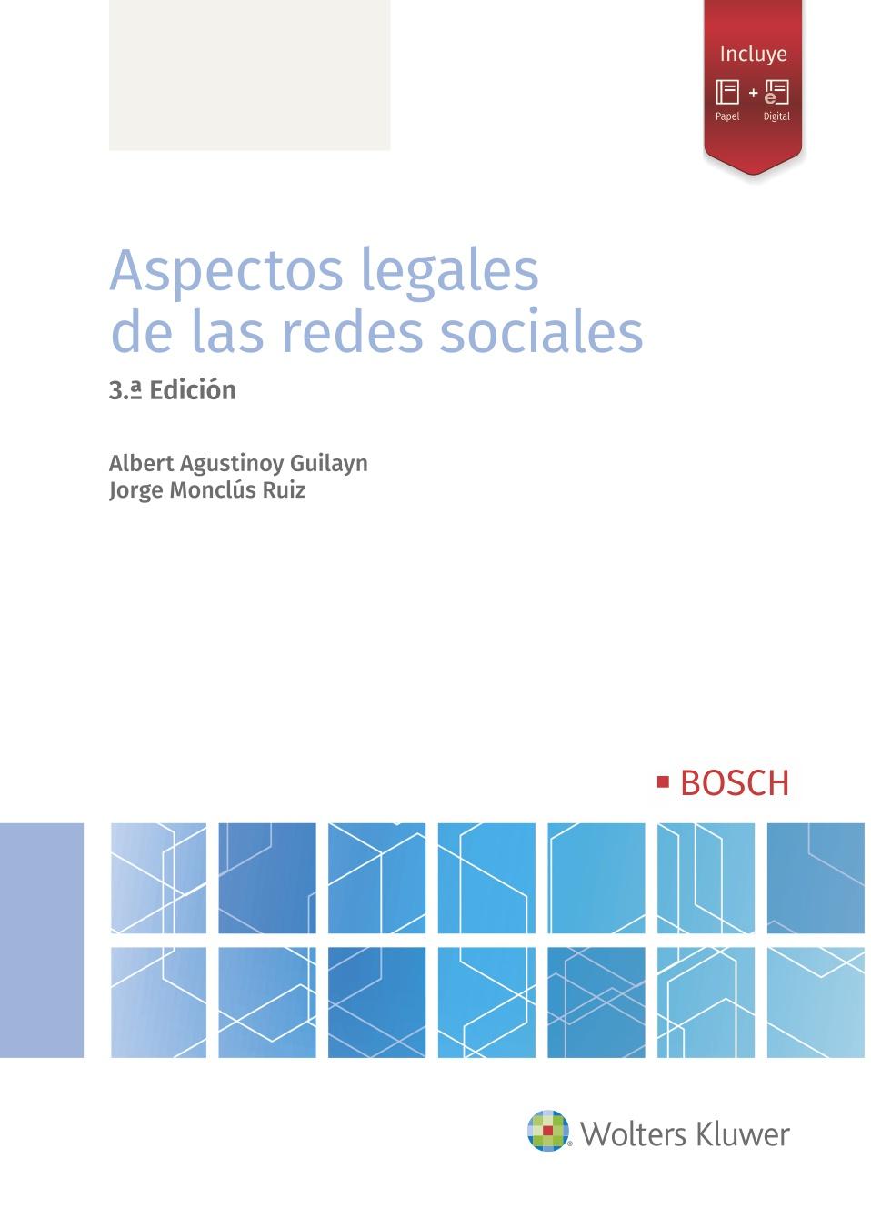 Aspectos legales de las redes sociales (3ª edición)