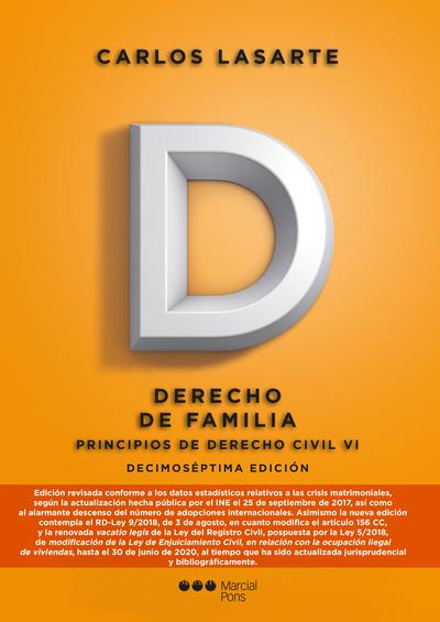 2018 PRINCIPIOS DE DERECHO CIVIL TOMO VI DERECHO DE FAMILIA