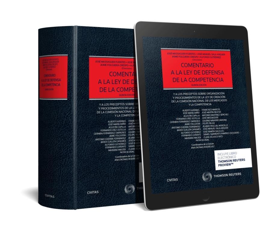COMENTARIO A LA LEY DE DEFENSA DE LA COMPETENCIA (DUO)