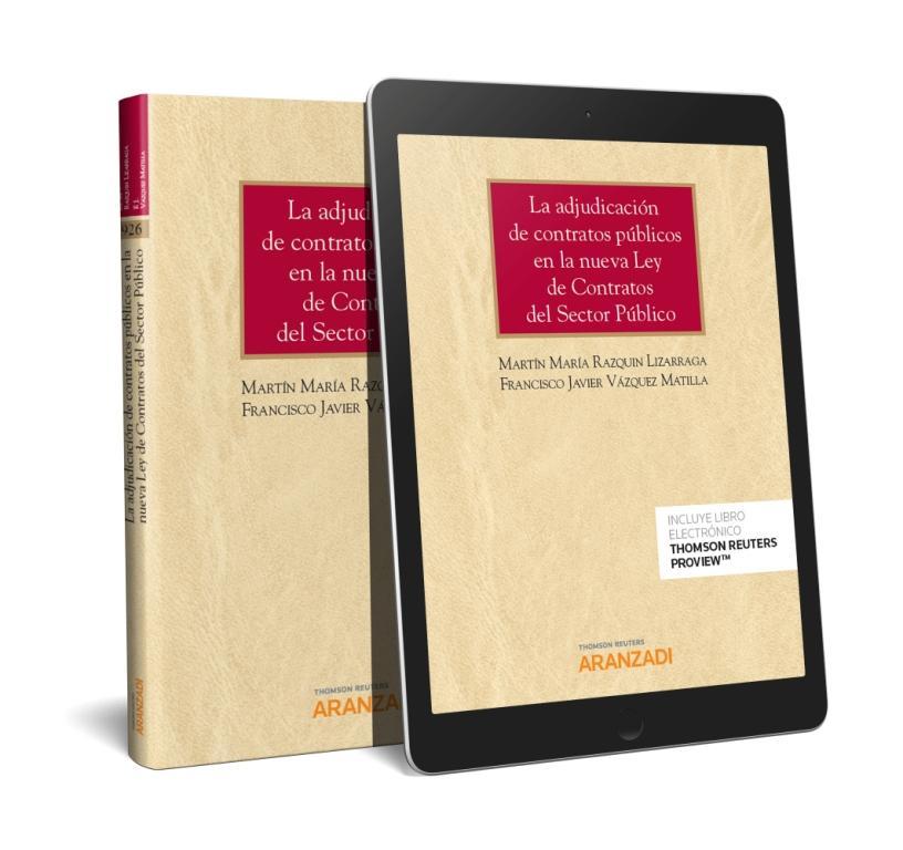 ADJUDICACION DE CONTRATOS PUBLICOS NUEVA LEY CONTRATOS SECTOR PUBLICO