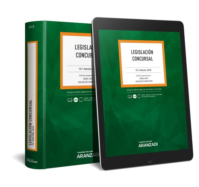 Legislación Concursal (Papel + e-book)