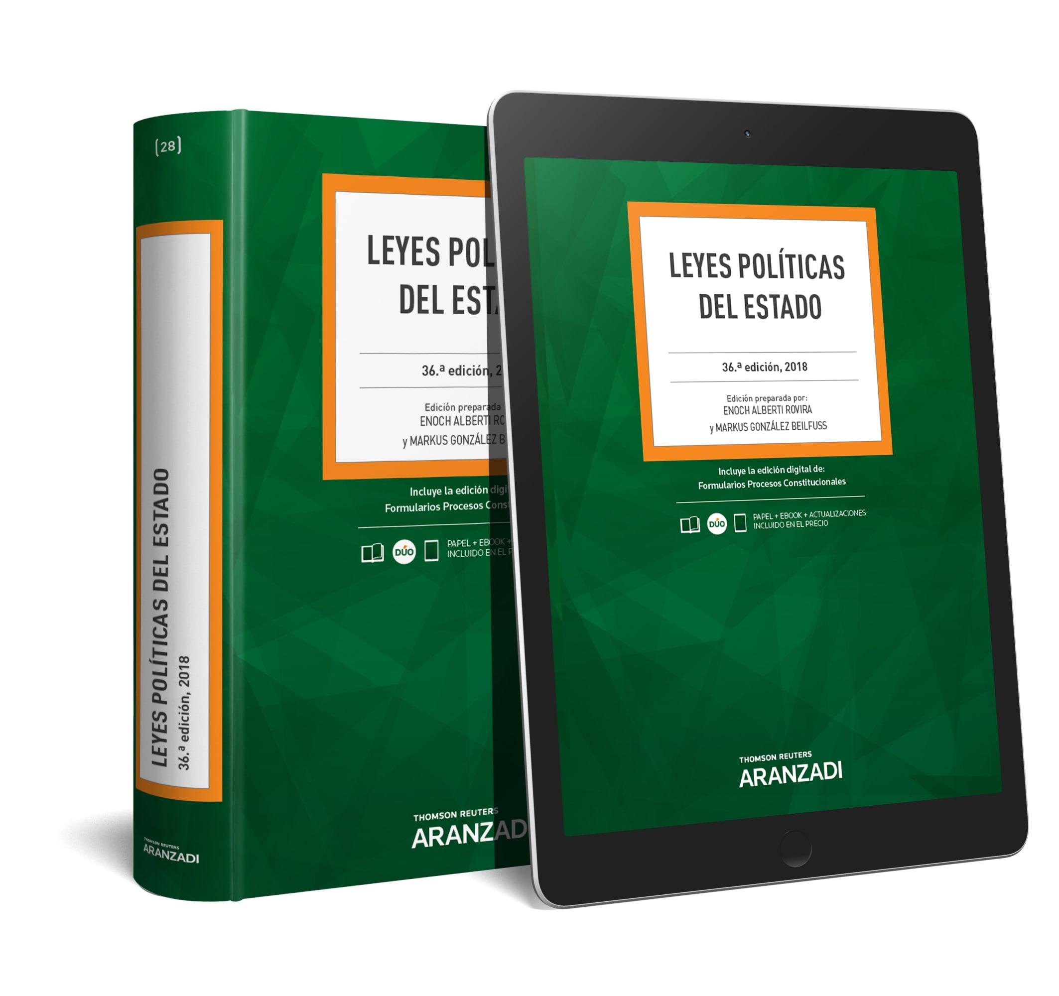LEYES POLÍTICAS DEL ESTADO (DÚO)