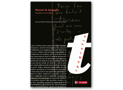 Manual de tipografía «Del plomo a la era digital» (9788493167738)