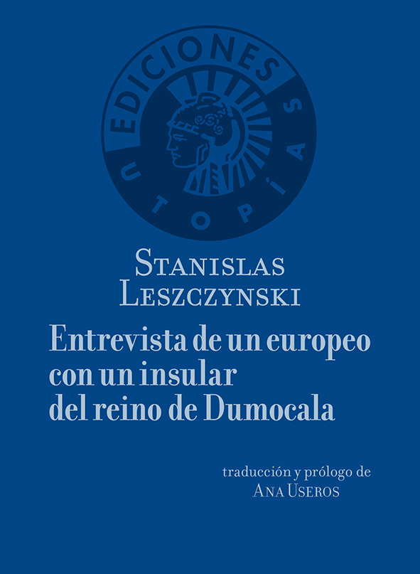 Entrevista con un europeo con un insular del reino de Dumocala