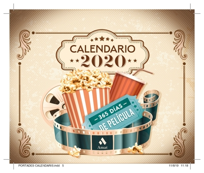 CALENDARIO 2020 365 DIAS DE PELICULA