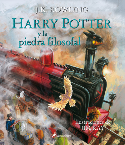 Harry Potter y la piedra filosofal (Harry Potter [edición ilustrada] 1) (9788498387070)