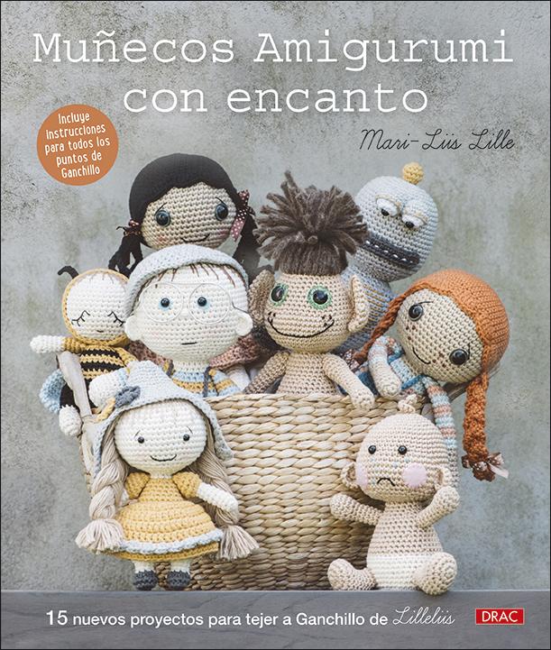 Muñecos amigurumi con encanto   «15 nuevos proyectos para tejer a ganchillo de Lilleliis»