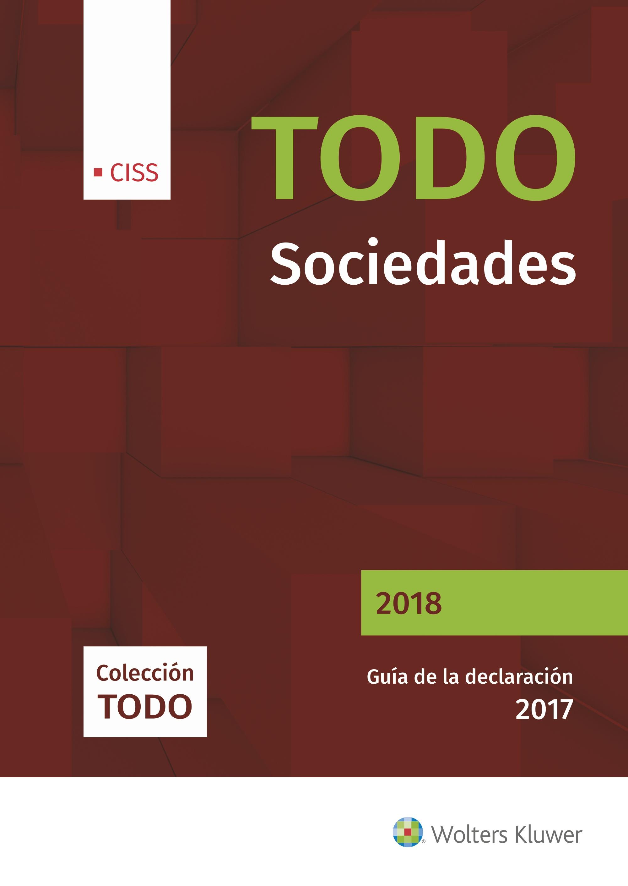 TODO SOCIEDADES 2018. 1ª EDICIÓN MAYO
